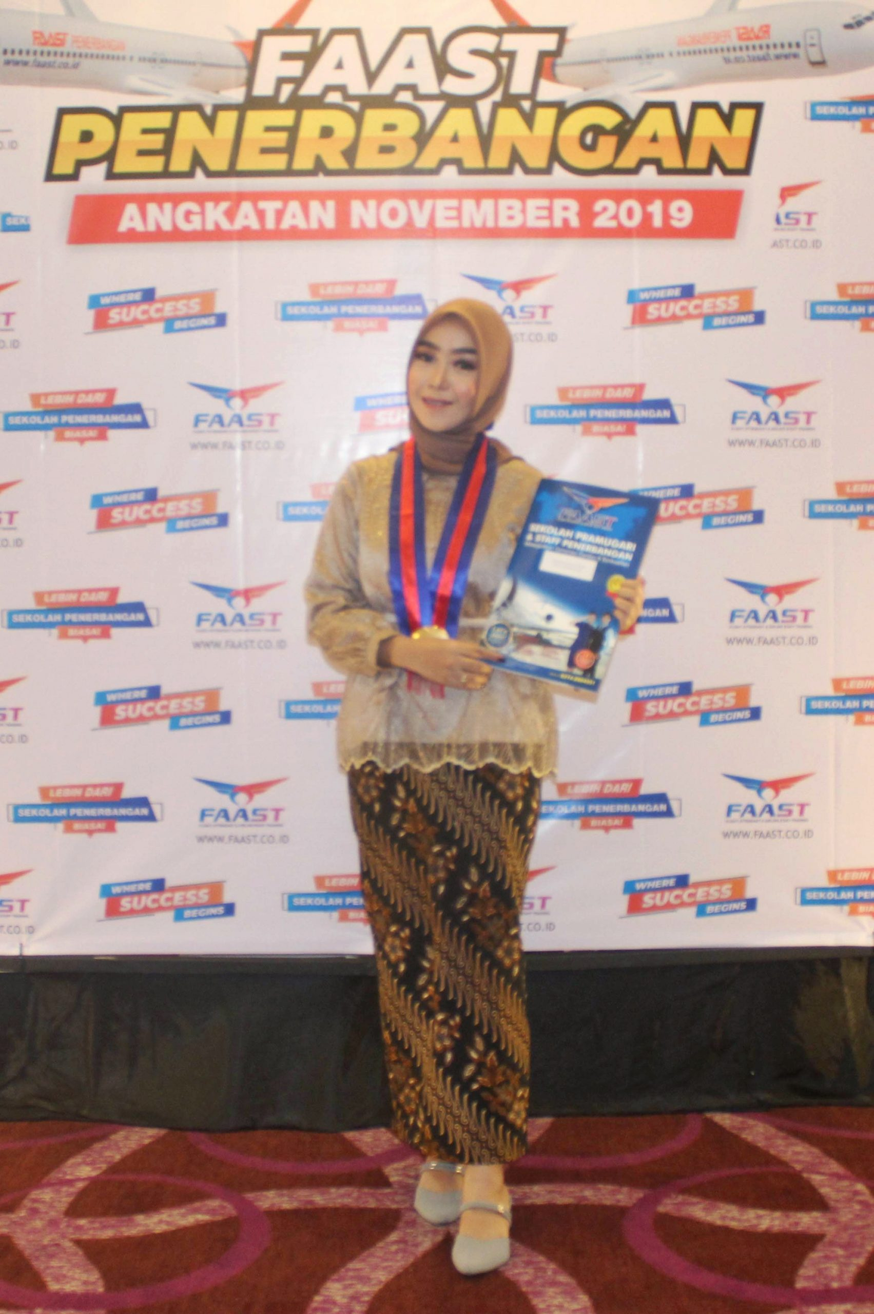 Karir Siswa FAAST Penerbangan Megawati